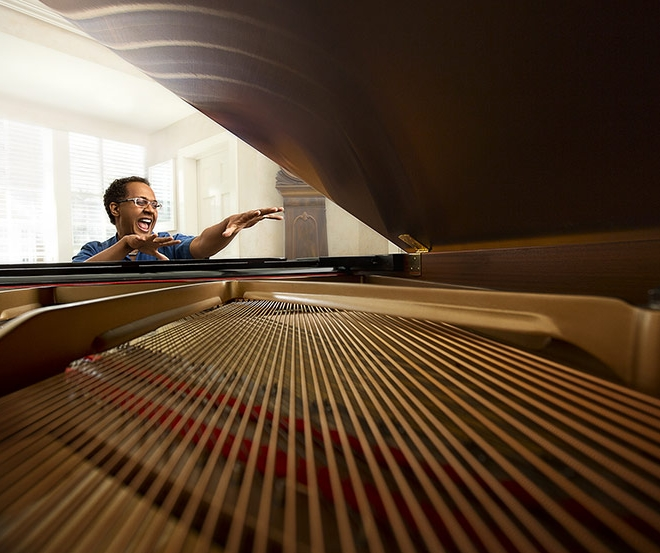 Joel Martin Playing Piano