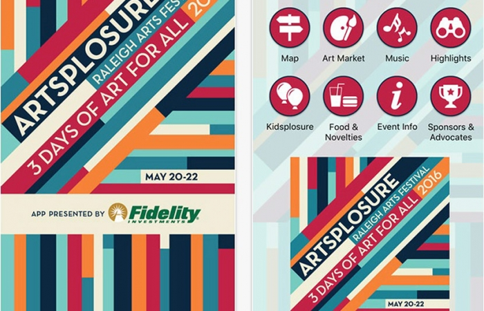 Mobile App For Artsplosure 2016 Now Available!