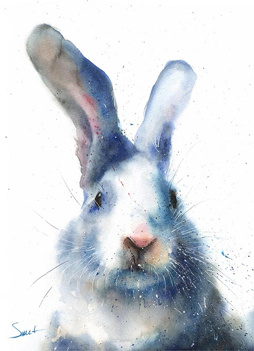Eric Sweet Painting of a rabbit