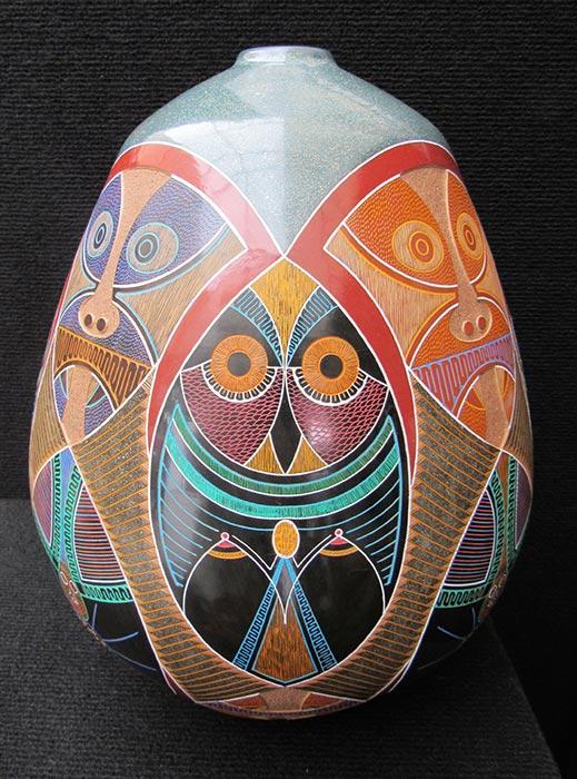 Luis Enrique Gutierrez Ceramics - vase