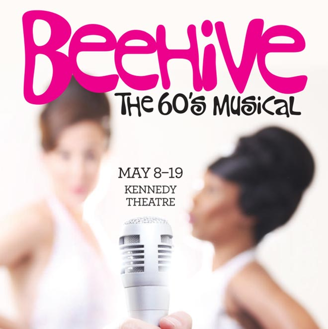 Theatre Raleigh Beehive The Musical Promo graphic