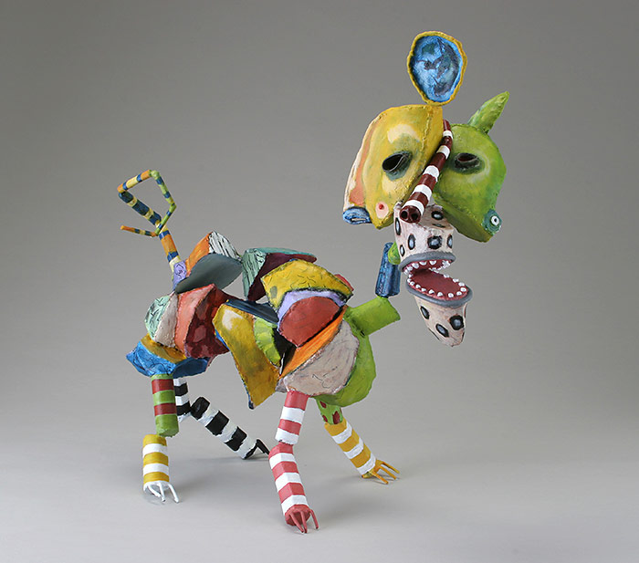 Bill Hickman - Abstract Dog Scultpure