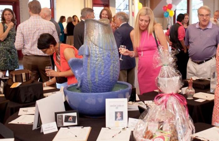 Artsplosure Fund Raiser Party With Attendees