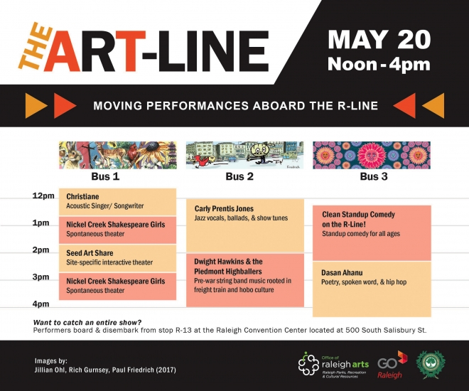 ART-LINE Schedule for May 20 2017