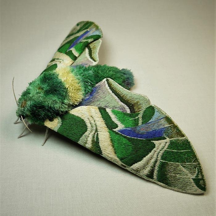 Yumi Okita fiber moth